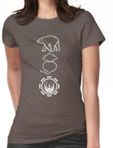 Bears. Beats. Battlestar Galactica Womens Fitted T-Shirt
