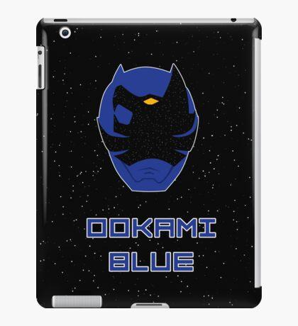 Kyuranger - Ookami Blue iPad Case/Skin