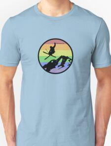 skiing 1 Unisex T-Shirt