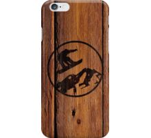 snowboarding 1 iPhone Case/Skin