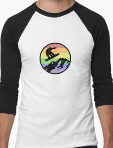 snowboarding 1 Men's Baseball ¾ T-Shirt
