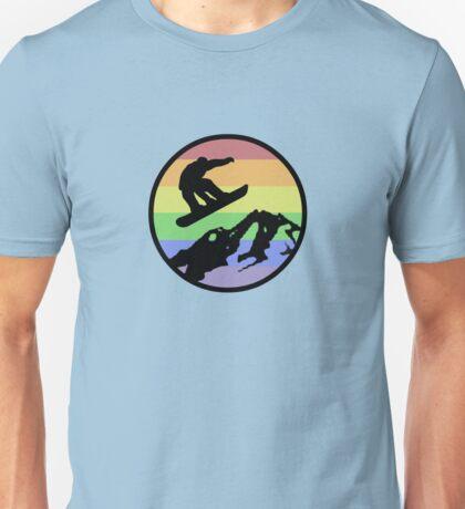 snowboarding 1 Unisex T-Shirt