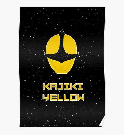 Kyuranger - Kajiki Yellow Poster