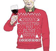 A Very Hannibal Christmas  by artbysamwise