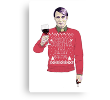 A Very Hannibal Christmas  Canvas Print