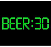 The Time Is Beer 30 Photographic Print