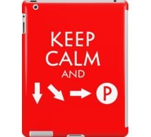 Keep Calm and Fireball iPad Case/Skin