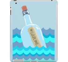 Hashtag Save Me iPad Case/Skin