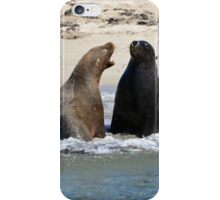 Do you want a piece of me? iPhone Case/Skin