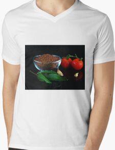 Mustard seeds Mens V-Neck T-Shirt