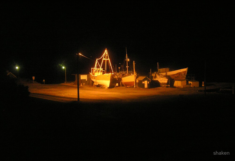 Wharf under Spotlight by shaken