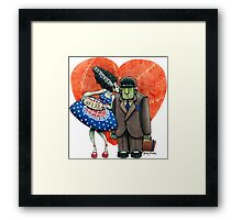 Montruous Love Framed Print
