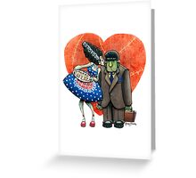 Montruous Love Greeting Card