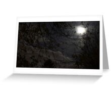 Mystery Moon Greeting Card