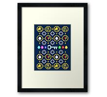 A Collect-A-Thon Christmas Framed Print