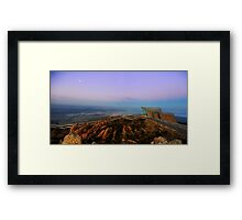 Hobart From Mt Wellington Framed Print