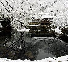 Uam Confucian School in Winter by koreanrooftop