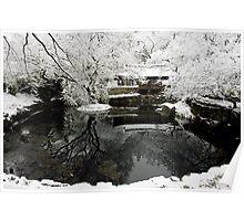 Uam Confucian School in Winter Poster