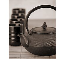 Still life with Teapot Photographic Print