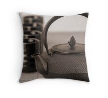 Still life with Teapot Throw Pillow