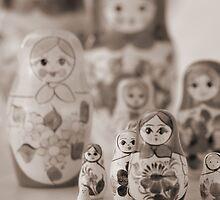 Still life with Matrioshka by nsoup