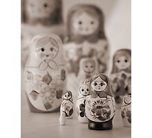 Still life with Matrioshka Photographic Print