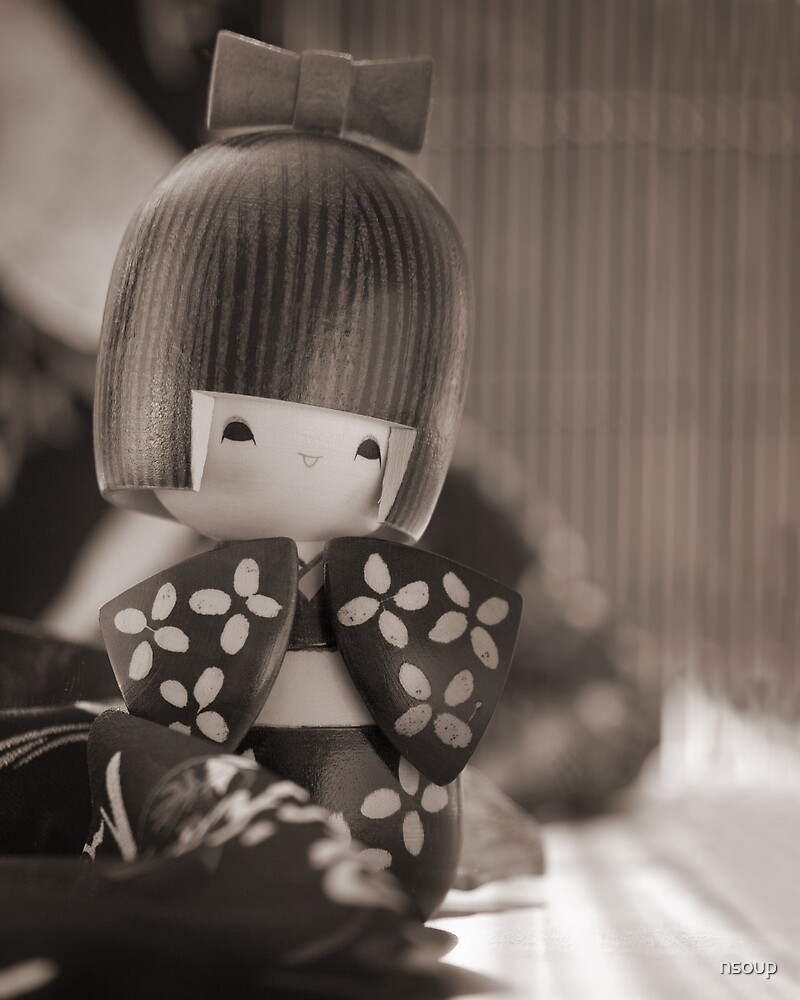 Still life with Doll by nsoup