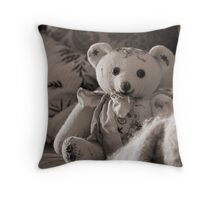 Still life with Teddy Throw Pillow
