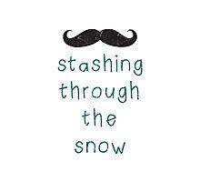 Stashing Through The Snow Photographic Print