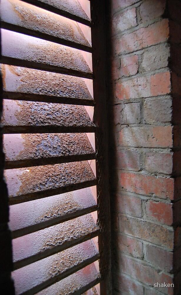 Rusty Window by shaken