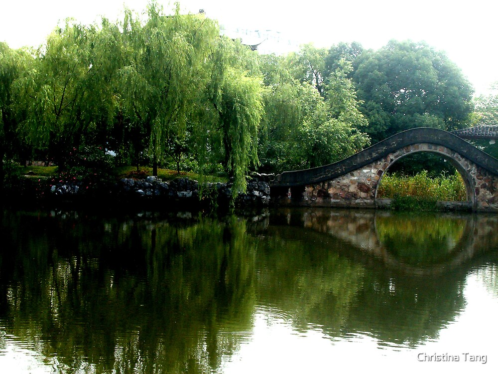 Bridge over Calm Waters by Christina Tang