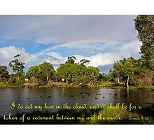 Genesis 9:13 - God's Promise Photographic Print