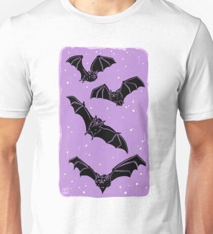 Batty in Violet Unisex T-Shirt