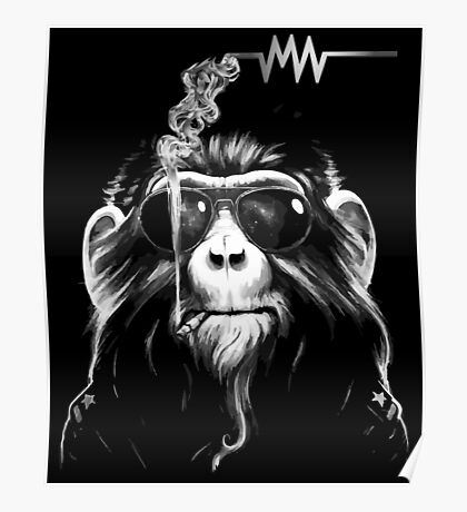 ARCTIC MONKEYS -  Smoking Monkey Poster