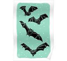 Batty in Mint Poster