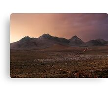 Head for The Hills Canvas Print