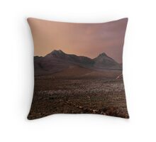 Head for The Hills Throw Pillow