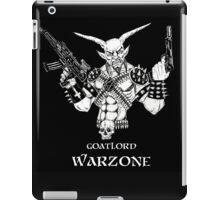 Goatlord Warzone iPad Case/Skin