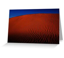 Desert Sand Dune  Greeting Card