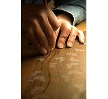 Artist's Hands Photographic Print