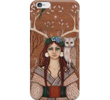 Wood Witch iPhone Case/Skin