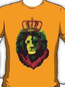 Reggae Rasta Lion. T-Shirt