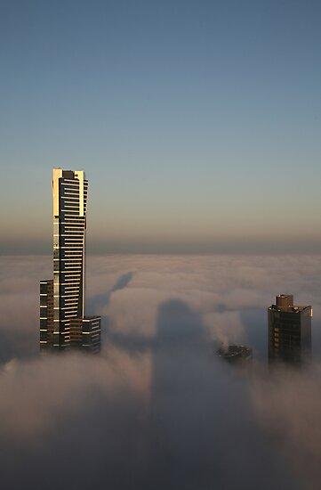 shadows and fog by Scott Sandars