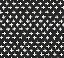 Swiss Cross at Midnight by phantomprint