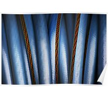 Realistic Abstract (garden hose) Poster