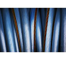 Realistic Abstract (garden hose) Photographic Print