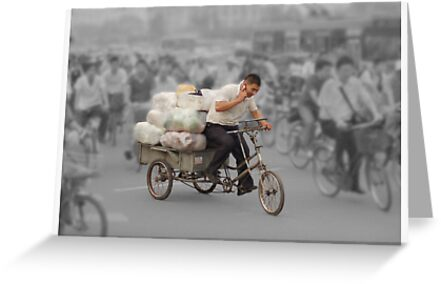 The delivery man by Peter Hammer