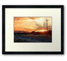 Morning Delivery Framed Print