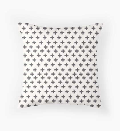 Swiss Cross at Midday Throw Pillow