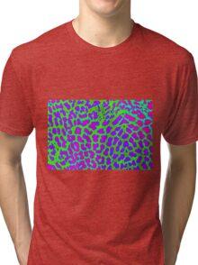 leopard fur Tri-blend T-Shirt